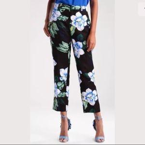  BANANA REPUBLIC Avery Chelsea Floral Pants 14